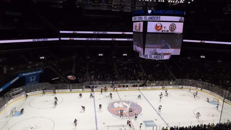 Seating view for Barclays Center Section 226 Row 3 Seat 1