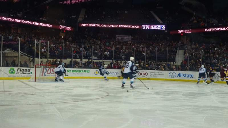 Seating view for Allstate Arena Section 103 Row AA Seat 18