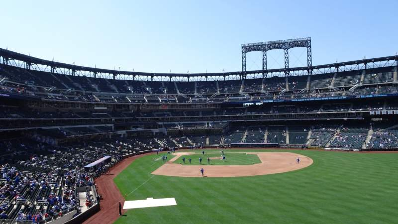 Seating view for Citi Field  Section 101 Row 12 Seat 7