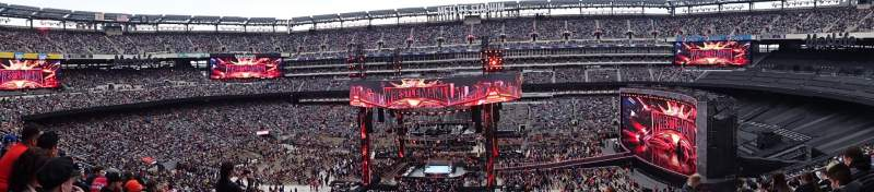 Seating view for Metlife Stadium  Section 212 Row 13 Seat 9
