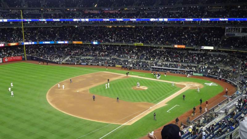 Seating view for Yankee Stadium Section 329 Row 3 Seat 22