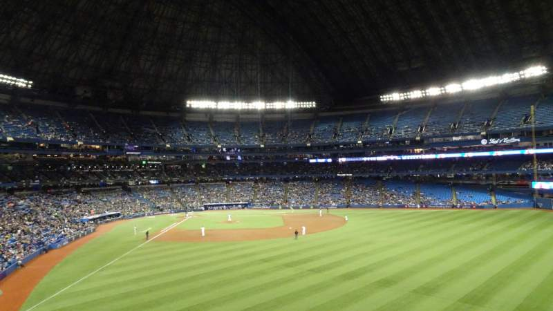 Seating view for Rogers Centre Section 205R Row 21 Seat 32