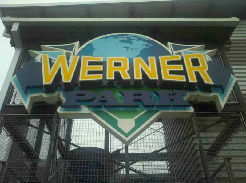 Seating view for Werner Park