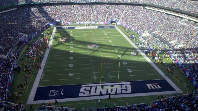 Seating view for MetLife Stadium Section 327 Row 21 Seat 6
