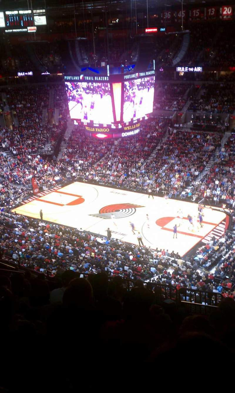 Seating view for Moda Center Section 314