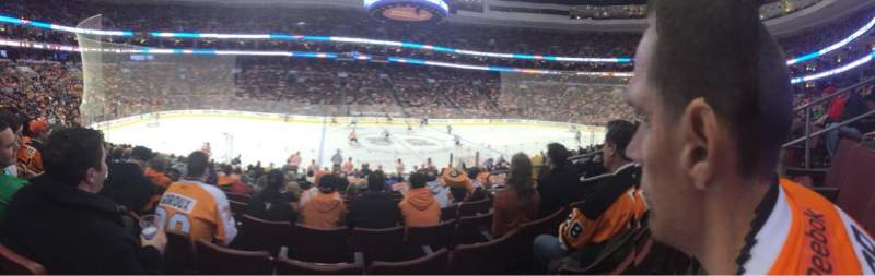 Seating view for Wells Fargo Center Section 112 Row 12 Seat 7