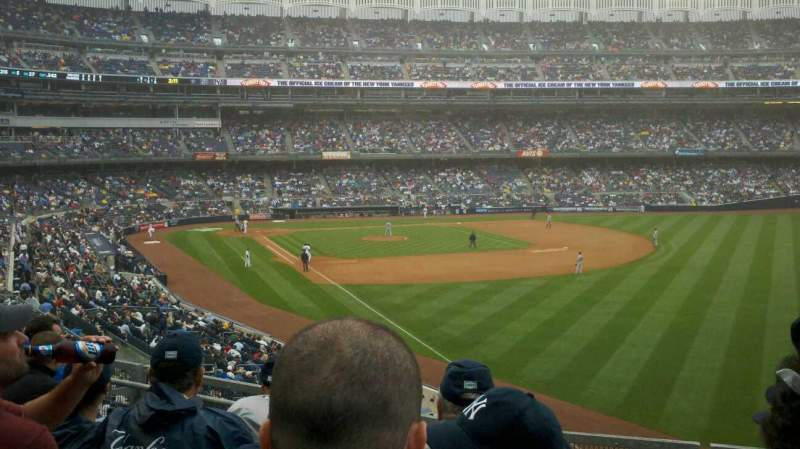 Seating view for Yankee Stadium Section 209 Row 5 Seat 6