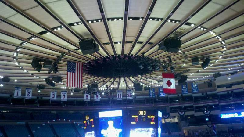 Seating view for Madison Square Garden Section 209 Row C Seat 7
