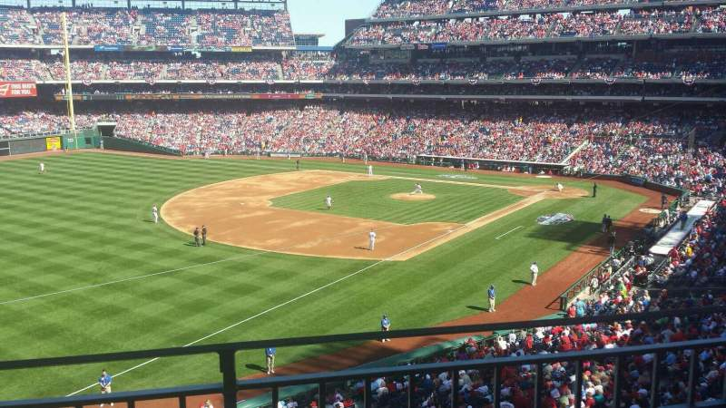Seating view for Citizens Bank Park Section 235 Row 2 Seat 8