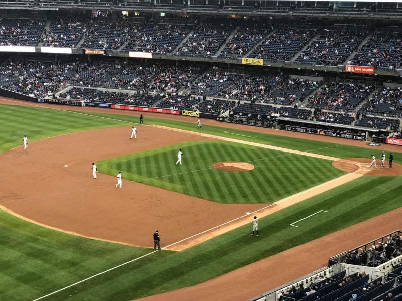 Seating view for Yankee Stadium Section Suite 60 Row A Seat 1
