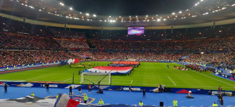 Seating view for Stade de France Section L13 Row 25 Seat 6