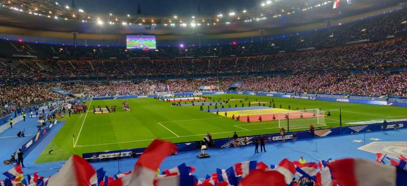 Seating view for Stade de France Section Y10 Row 25 Seat 32