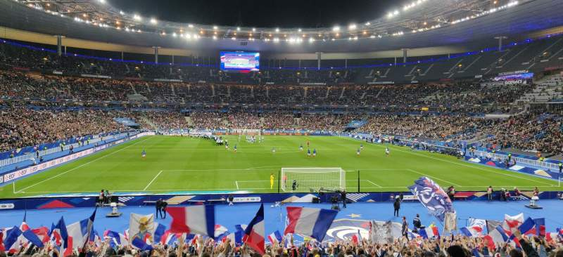 Seating view for Stade de France Section K4 Row 30 Seat 30