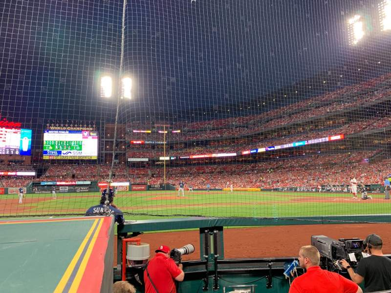 Seating view for Busch Stadium Section 156 Row A Seat 3