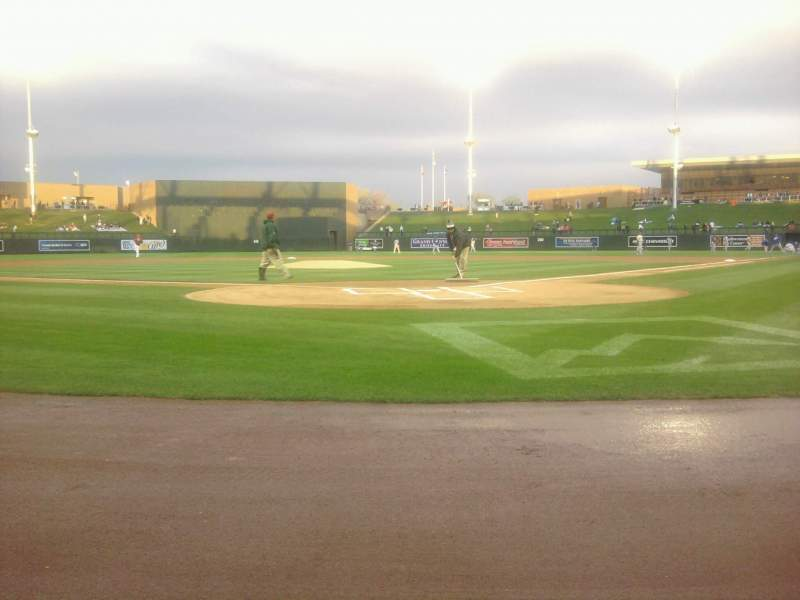 Seating view for Salt River Fields Section 113 Row 1 Seat 1