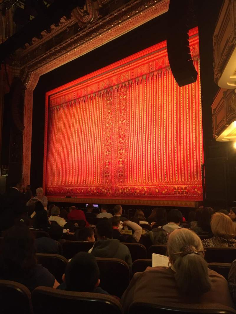 Seating view for Hippodrome Theatre Section Right orchestra Row M Seat 20 and 22