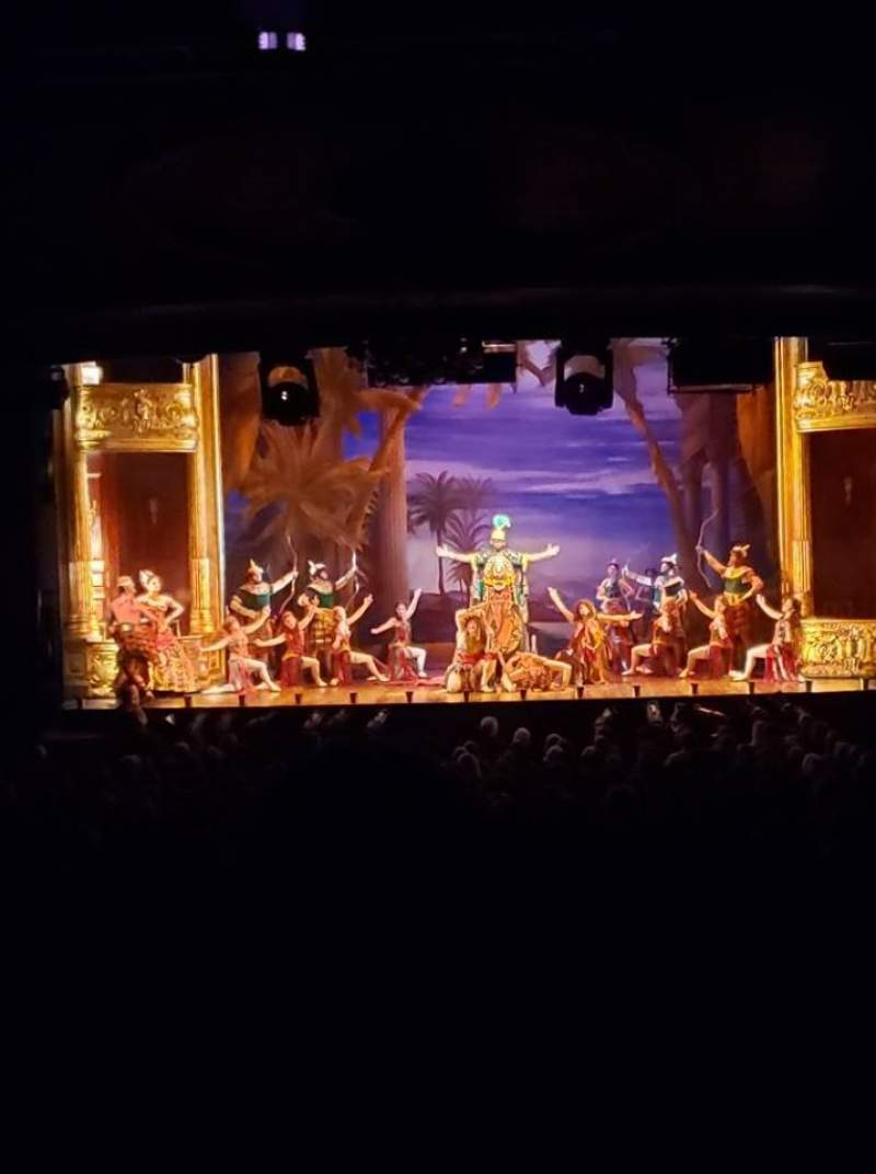 Seating view for Hippodrome Theatre Section Center Orchestra Row FF Seat 113