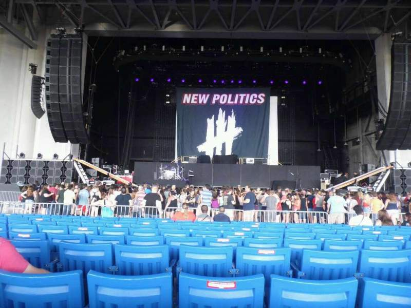 Seating view for PNC Music Pavilion Section 2 Row R Seat 23
