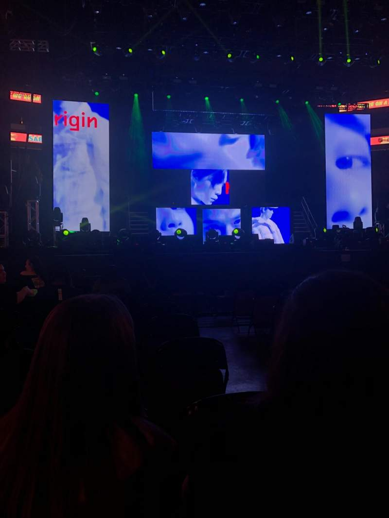 Prudential Center, section C, row 9, seat 2 - NCT 127 tour: Nct