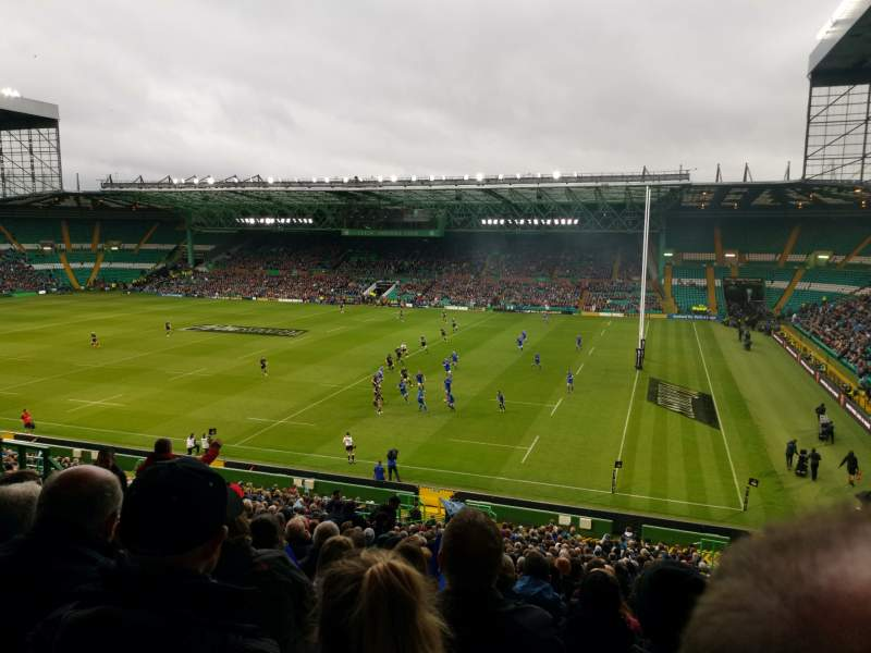 Seating view for Celtic Park Section 201 Row NN Seat 30