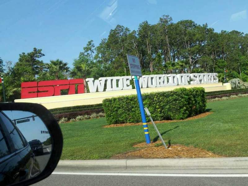 Seating view for ESPN Wide World of Sports Complex