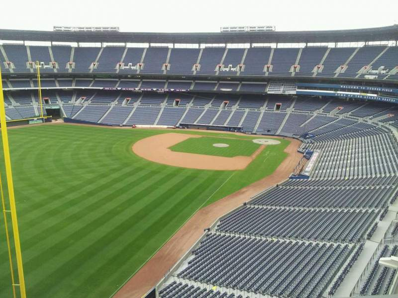 Seating view for Turner Field Section Sky Field