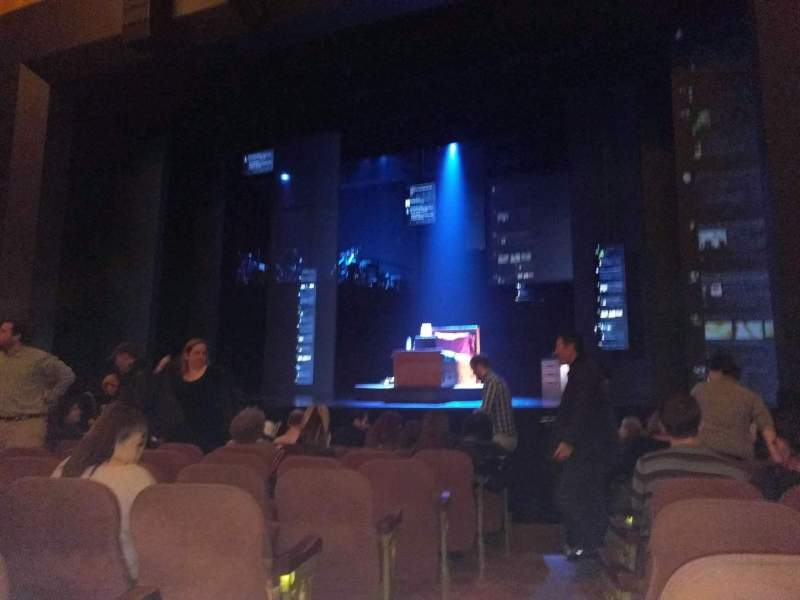 Seating view for Music Box Theatre Section Orchestra R Row J Seat 2