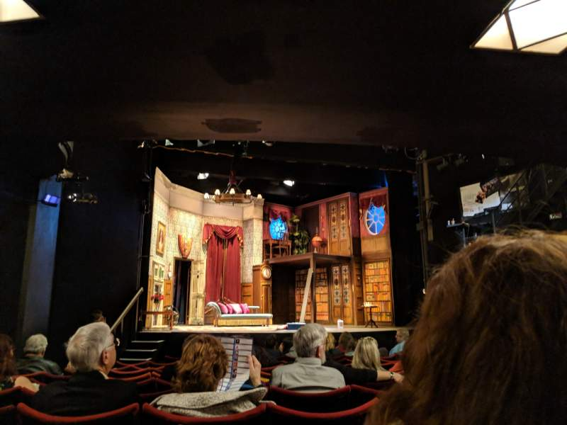 Seating view for Duchess Theatre Section Stalls Row M Seat 21