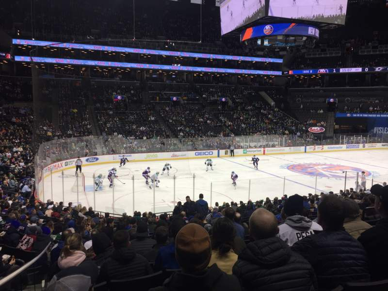 Seating view for Barclays Center Section 10 Row 20 Seat 8