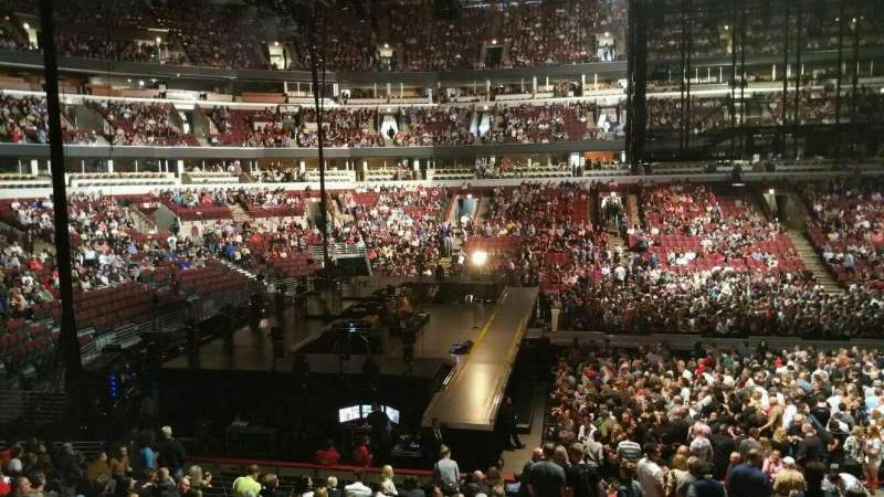 Seating view for United Center Section 113 Row 19 Seat 9