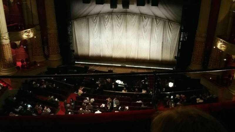 Seating view for Academy of Music Section Family Circle E Row C Seat 101
