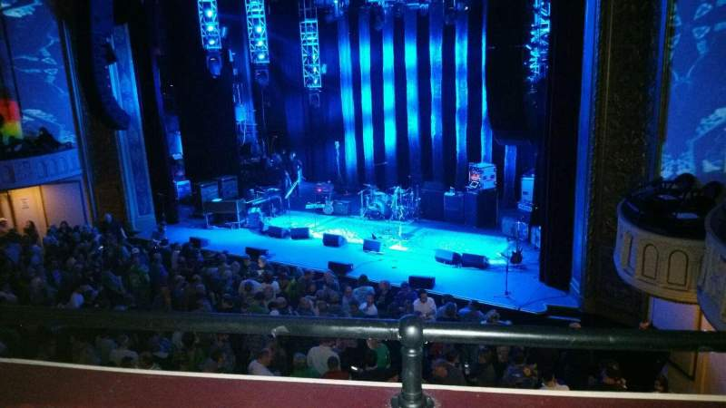 Seating view for Capitol Theatre (Port Chester) Section Loge Row BB Seat 8