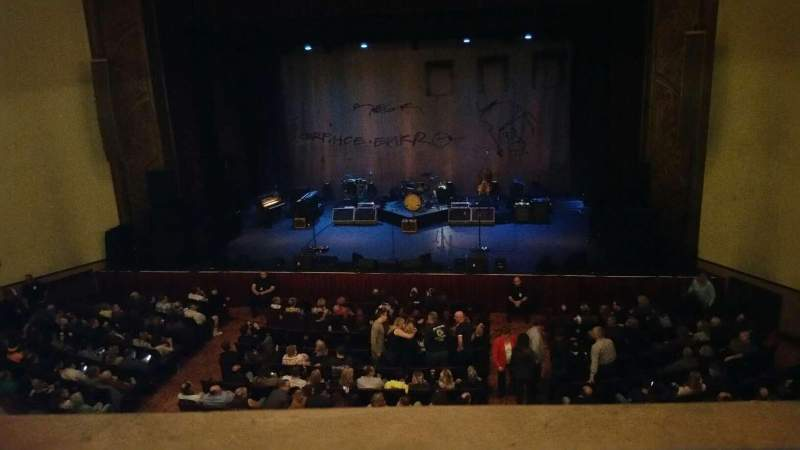 Seating view for F.M. Kirby Center Section Centet Mezzanine Row A Seat 101
