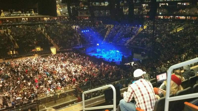 Madison Square Garden, section: 210, row: 5, seat: 20