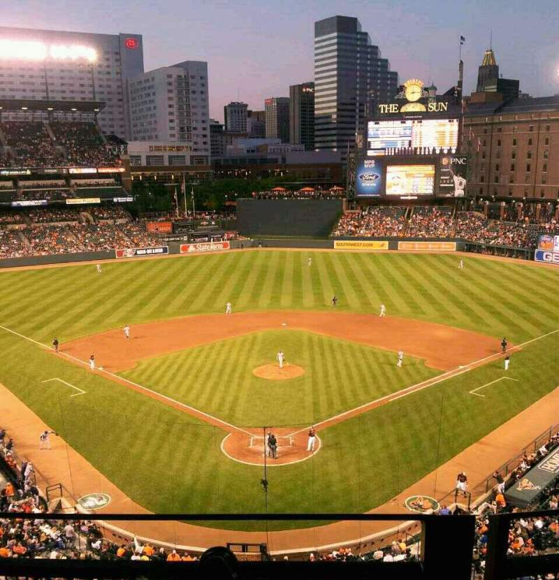 Seating view for Oriole Park at Camden Yards Section 336 Row 2 Seat 5