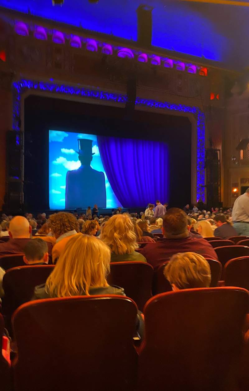 Seating view for Saenger Theatre (New Orleans) Section Orchestra L Row AA Seat 25
