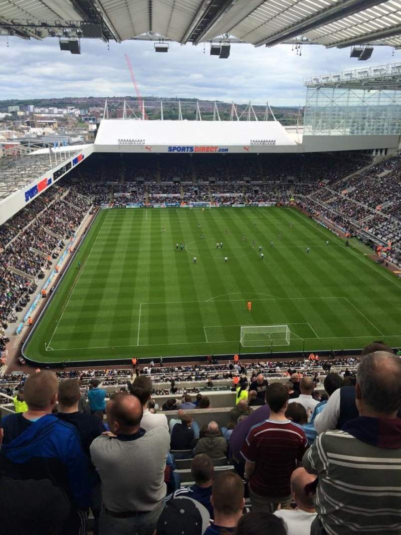 Seating view for St James' Park Section L7 Row R Seat 534