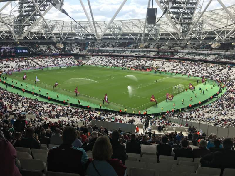 Seating view for London Stadium Section 243 Row 62 Seat 127