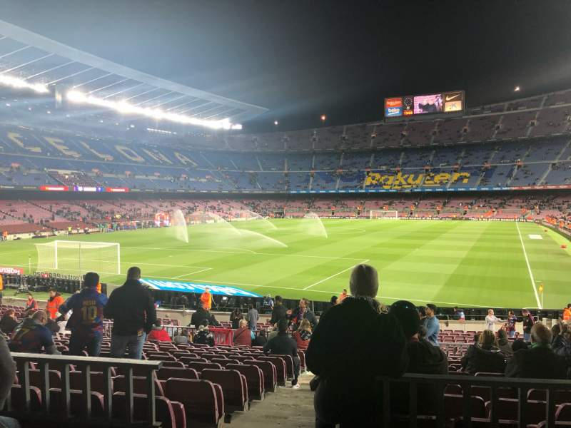 Seating view for Camp Nou Section 123 Row 17 Seat 2