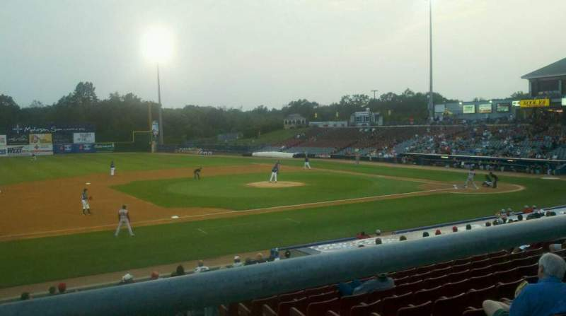 Seating view for Dodd Stadium Section 19 Row T Seat 4