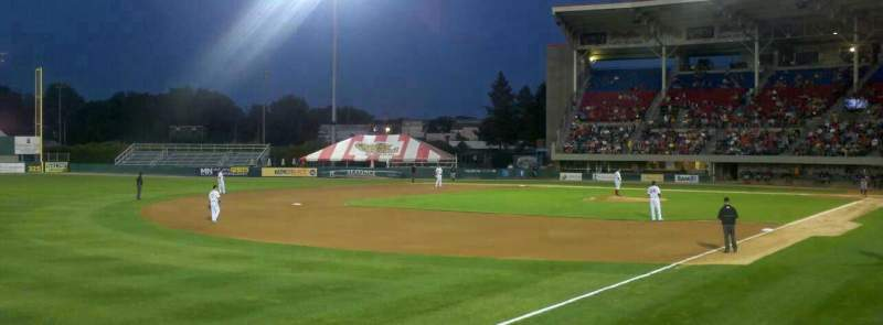 Seating view for McCoy Stadium Section 15 Row B Seat 17