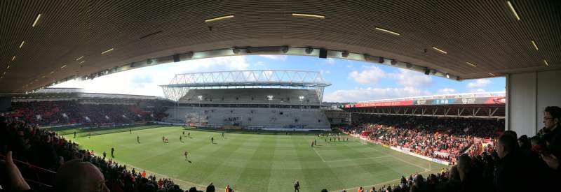 Seating view for Ashton Gate Stadium