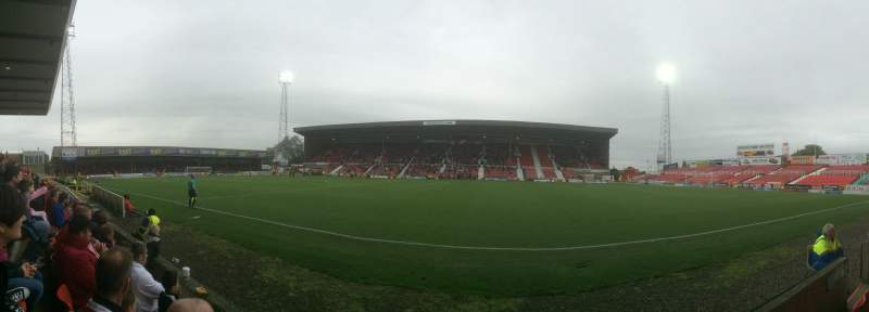 Seating view for County Ground Section Don Rogers Stand