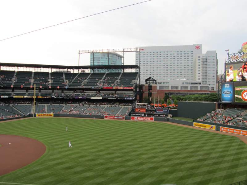 Seating view for Oriole Park at Camden Yards Section 214 Row 5 Seat 4