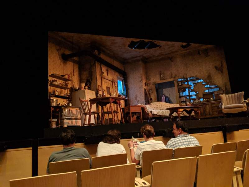 Seating view for Williamstown Theatre Festival Section Orchestra Row C Seat 113