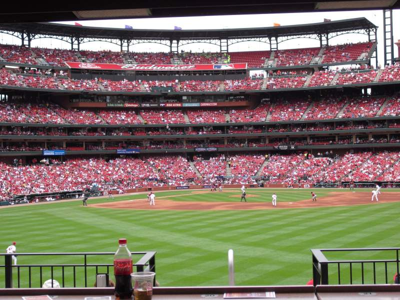 Seating view for Busch Stadium Section HLA Row B Seat 33