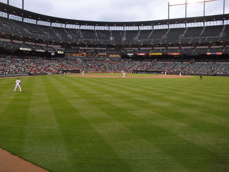 Seating view for Oriole Park at Camden Yards Section 94 Row 1 Seat 18