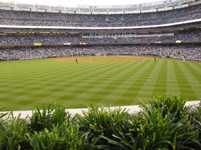 Seating view for Yankee Stadium Section 238 Row 1