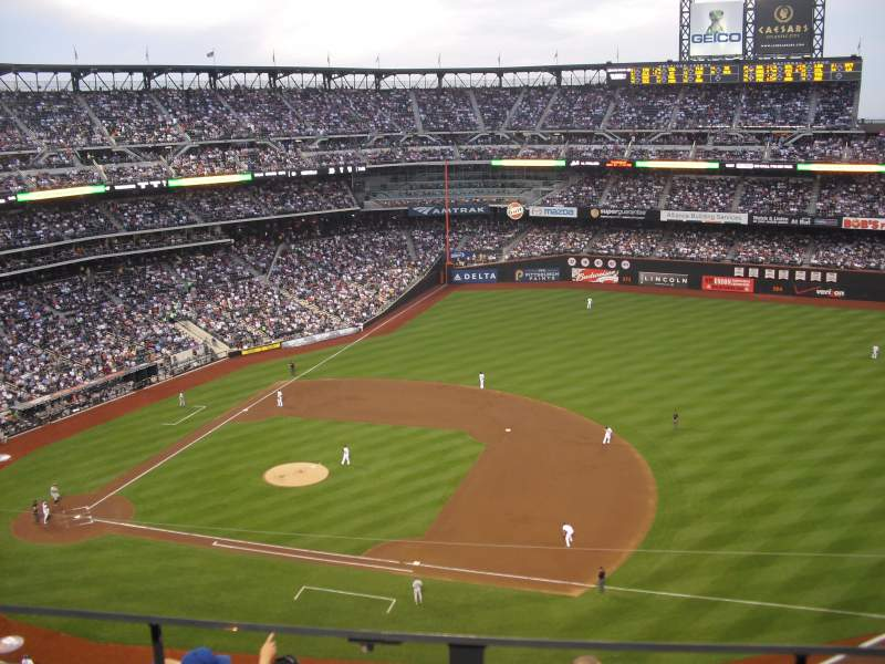 Seating view for Citi Field Section 506 Row 2 Seat 19