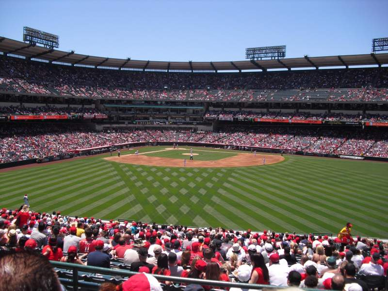 Seating view for Angel Stadium Section 247 Row C Seat 18